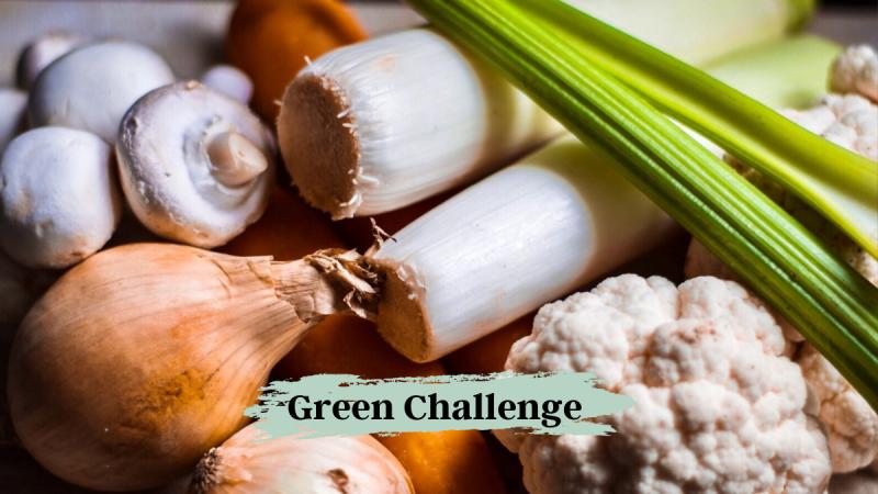 Green Challenge unverpacktes Obst und Gemüse