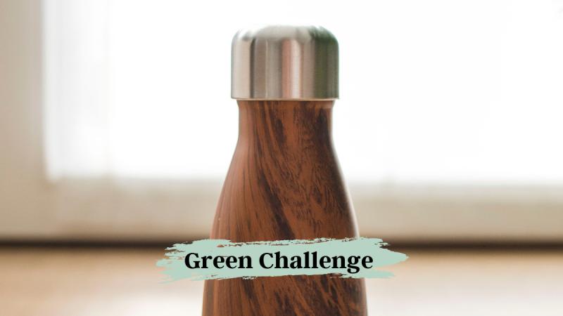 Green Challenge Trinkflasche